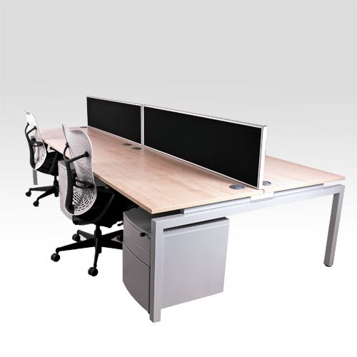 narrow office desks. flex new slim bench desk white space saving narrow for multiple users office desks